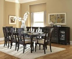 9 dining room set 9 dining table 9 dining room furniture set in cappuccino