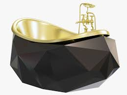 diamond bathtub 3d model diamond bathtub by maison valentina cgtrader