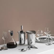 buy georg jensen wine u0026 bar coasters set of 4 amara