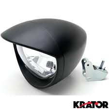 motorcycle custom black headlight for honda shadow aero phantom