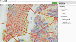 Zip Code Map New York by Track The Snow Plows Across New York City In Real Time