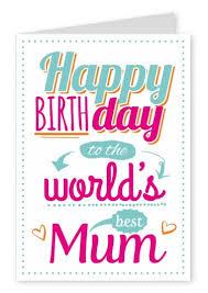 word u0027s best mum happy birthday cards send real postcards online