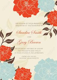 Wedding Invitation Cards Download Free Floral Wedding Invitation Template Illustration Royalty Free