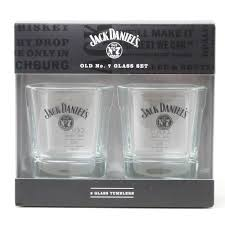 Jack Daniels Gift Set Jack Daniels Set Of Twin Tumblers Ideal Gift For Whiskey Lover