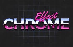 80s design 80s chrome text effect u2014 medialoot