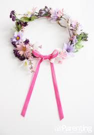 make a children u0027s fairy flower crown