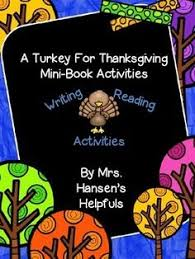 a turkey for thanksgiving by bunting teaching ideas