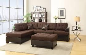 Black Microfiber Sectional Sofa Fabric Sectionals Microfiber Sectional Sofas Microsuede Black Sofa