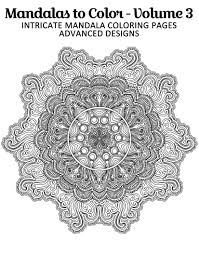 free printable mandala coloring page from mandalas to color