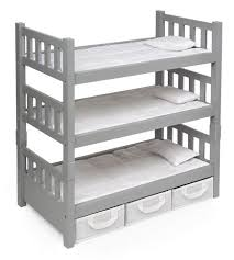 Badger Bunk Bed Badger Basket 1 2 3 Convertible Doll Bunk Bed With 3 Storage