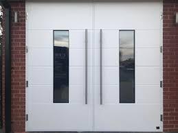 garage door ideas contemporary side hinged garage doors changing side hinged