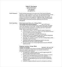 Resume Outline Examples by Professional Resume U2013 9 Free Samples Examples Format