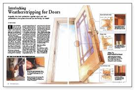 Weather Stripping For Exterior Doors Interlocking Weatherstripping For Doors Homebuilding