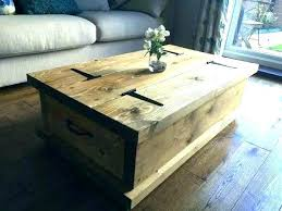 Rustic Storage Coffee Table Coffee Table Storage Chest Coffee Table Storage Chests Trunks