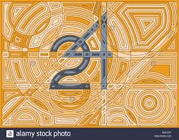 infinity number time infinity abstract background number 24 with circles shapes