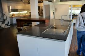 Stainless Top Kitchen Island by Rectangle Wooden Stained Kitchen Islands Stainless Steel Swing