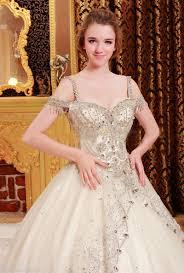bright diamond fancy wedding dress vvxj yz fashion bridal