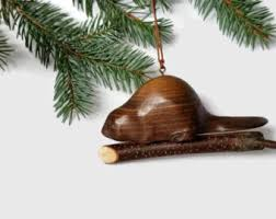 wood tree ornaments etsy
