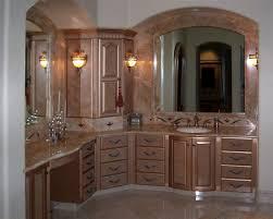 diy bathroom remodel ideas with wood bathroom cabinets large wall