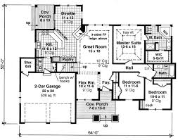 Rambler Home Designs With Good Classic Rambler Ranch Home Amazing - Rambler home designs