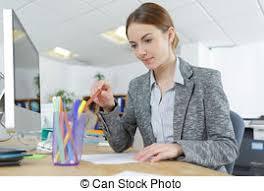 employé de bureau modèles tenue employé bureau femme bureau photos de stock