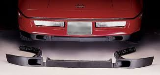 c4 corvette 1984 1996 front spoiler with brake cooling ducts