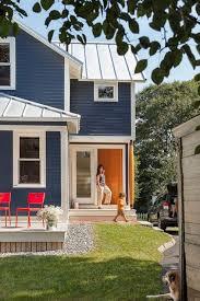 Best Colors With Orange Best 25 Blue House Exteriors Ideas On Pinterest Blue Houses