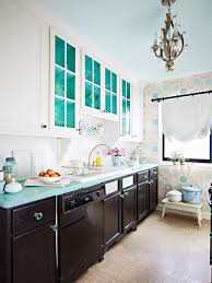 painted kitchen floor ideas 15 ways to update your kitchen with paint better homes gardens