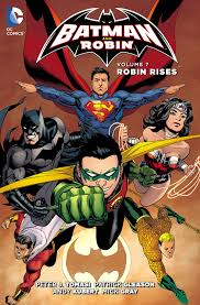 batman robin robin rises collected dc database fandom