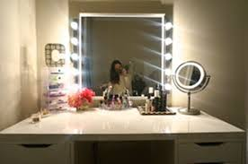 Lighted Makeup Vanity Mirror Best Lighted Makeup Vanity Mirror U2014 Doherty House