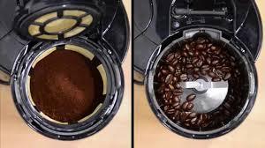 Burr Coffee Grinder Bed Bath And Beyond Vonshef Filter Coffee Maker With Grinder Youtube