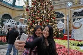Bellagio Botanical Garden Bellagio Conservatory Debuts New Display Las
