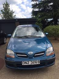 nissan almera diesel engine nissan almera tino s 1 8 l blue 2002 2 owners great condition