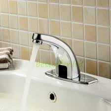 Motion Sensor Bathroom Faucet by Motion Sensor Faucet Touchless Auto Kitchen Bathroom Sink Faucet
