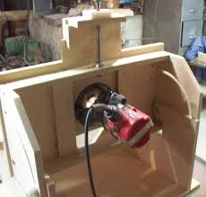 Building A Router Table by Vertical Horizontal Router Table Build Woodworking Talk
