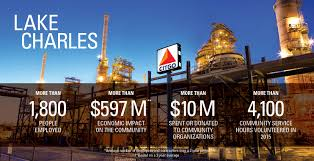 Refineries In Usa Map by Citgo Lake Charles Citgo Refining