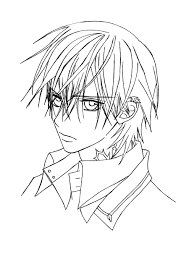 16 images of vampire knight zero and yuki coloring pages kaname