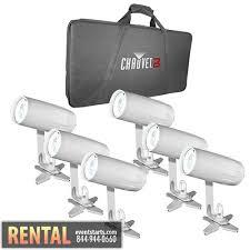 spotlight rental rent 6 chauvet ezpin led wireless pin spot spotlight