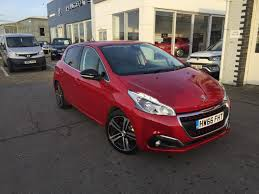 second hand peugeot for sale used 2016 peugeot 208 ss gt line 5dr for sale in ryde isle of wight