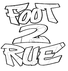 Coloriage Foot 2 Rue Extreme A Imprimer at SuperColoriage
