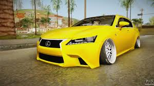 isf lexus slammed lexus gs350 for gta san andreas