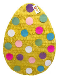 easter egg pinata 2 d easter egg pinata easter gender reveal pinata yellow color