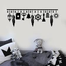 vinyl wall decal luck amulet talisman bedroom stickers mural
