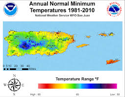 What Is A Climate Map Pr And Usvi Normals