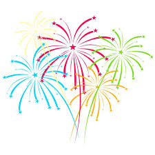 fuochi d artificio clipart carta da parati fuochi d artificio vettoriale su sfondo bianco