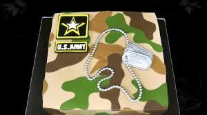 Welcome Home Military Cake Youtube