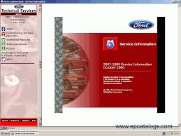 ford usa technical services 2007 2008 repair manual cars repair