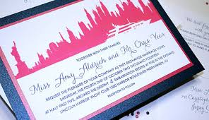 wedding invitations nyc planning a nyc themed wedding by things favors