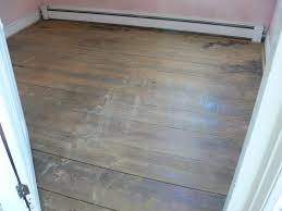 tongue and groove flooring revealed