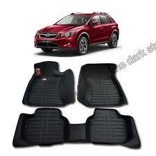 subaru crosstrek interior leather free shipping leather car floor mat carpet rug for subaru xv 2012